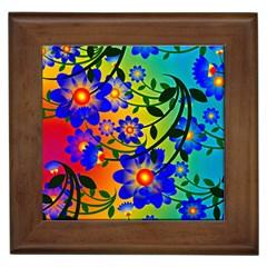 Abstract Background Backdrop Design Framed Tiles