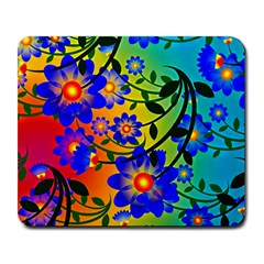 Abstract Background Backdrop Design Large Mousepads by Amaryn4rt