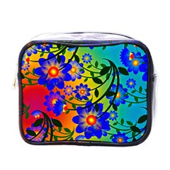 Abstract Background Backdrop Design Mini Toiletries Bags by Amaryn4rt