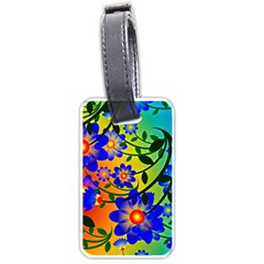Abstract Background Backdrop Design Luggage Tags (two Sides) by Amaryn4rt
