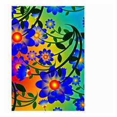 Abstract Background Backdrop Design Small Garden Flag (two Sides) by Amaryn4rt
