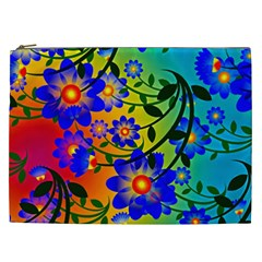 Abstract Background Backdrop Design Cosmetic Bag (xxl)  by Amaryn4rt