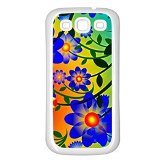 Abstract Background Backdrop Design Samsung Galaxy S3 Back Case (white) by Amaryn4rt