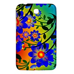 Abstract Background Backdrop Design Samsung Galaxy Tab 3 (7 ) P3200 Hardshell Case  by Amaryn4rt