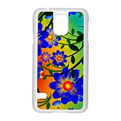 Abstract Background Backdrop Design Samsung Galaxy S5 Case (white) by Amaryn4rt