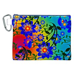 Abstract Background Backdrop Design Canvas Cosmetic Bag (xxl) by Amaryn4rt