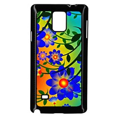 Abstract Background Backdrop Design Samsung Galaxy Note 4 Case (black) by Amaryn4rt