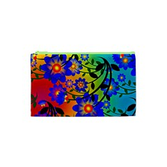 Abstract Background Backdrop Design Cosmetic Bag (xs) by Amaryn4rt