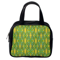 Ornate Modern Noveau Classic Handbags (one Side) by dflcprints
