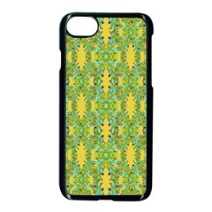 Ornate Modern Noveau Apple Iphone 7 Seamless Case (black) by dflcprints