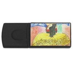 Lunacy Of Spirit Usb Flash Drive Rectangular (4 Gb) by artsystorebytandeep