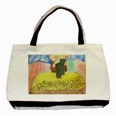 Lunacy Of Spirit Basic Tote Bag by artsystorebytandeep