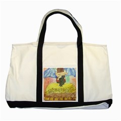 Lunacy Of Spirit Two Tone Tote Bag by artsystorebytandeep