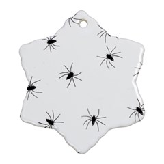 Animals Arachnophobia Seamless Ornament (snowflake) by Amaryn4rt