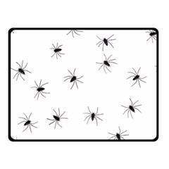 Animals Arachnophobia Seamless Double Sided Fleece Blanket (small)  by Amaryn4rt
