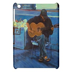 Man And His Guitar Apple Ipad Mini Hardshell Case by theunrulyartist