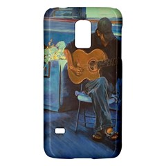 Man And His Guitar Galaxy S5 Mini by theunrulyartist