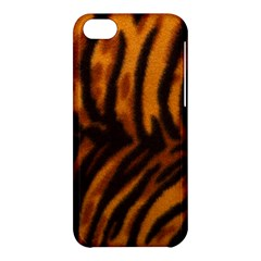 Animal Background Cat Cheetah Coat Apple Iphone 5c Hardshell Case by Amaryn4rt