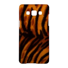 Animal Background Cat Cheetah Coat Samsung Galaxy A5 Hardshell Case  by Amaryn4rt