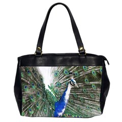 Animal Photography Peacock Bird Office Handbags (2 Sides)  by Amaryn4rt