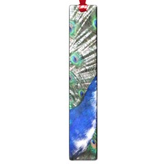 Animal Photography Peacock Bird Large Book Marks by Amaryn4rt
