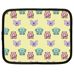 Animals Pastel Children Colorful Netbook Case (large) by Amaryn4rt