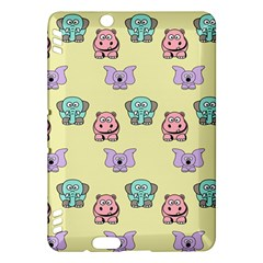Animals Pastel Children Colorful Kindle Fire Hdx Hardshell Case