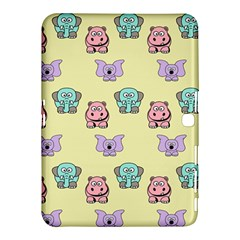 Animals Pastel Children Colorful Samsung Galaxy Tab 4 (10 1 ) Hardshell Case  by Amaryn4rt