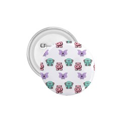 Animals Pastel Children Colorful 1 75  Buttons by Amaryn4rt