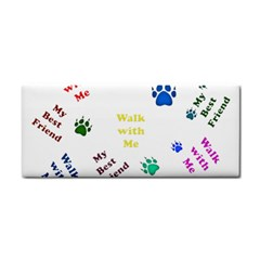 Animals Pets Dogs Paws Colorful Cosmetic Storage Cases by Amaryn4rt