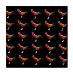 Background Pattern Chicken Fowl Tile Coasters by Amaryn4rt