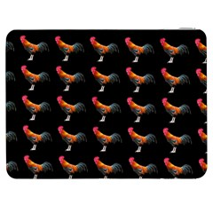 Background Pattern Chicken Fowl Samsung Galaxy Tab 7  P1000 Flip Case by Amaryn4rt