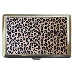 Background Pattern Leopard Cigarette Money Cases by Amaryn4rt