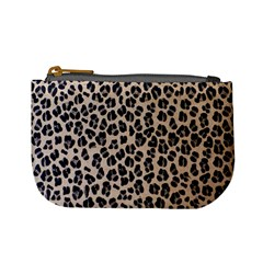 Background Pattern Leopard Mini Coin Purses