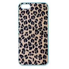 Background Pattern Leopard Apple Seamless Iphone 5 Case (color) by Amaryn4rt