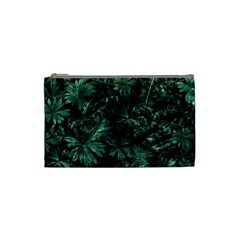 Dark Flora Photo Cosmetic Bag (small)  by dflcprints