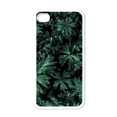 Dark Flora Photo Apple Iphone 4 Case (white) by dflcprints