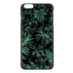 Dark Flora Photo Apple Iphone 6 Plus/6s Plus Black Enamel Case by dflcprints