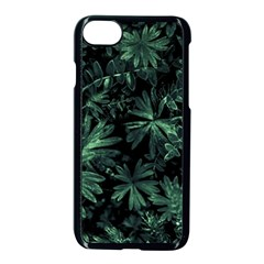 Dark Flora Photo Apple Iphone 7 Seamless Case (black) by dflcprints