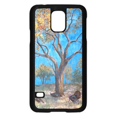 Turkeys Samsung Galaxy S5 Case (black) by theunrulyartist