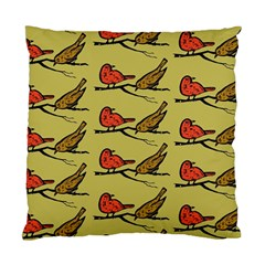 Bird Birds Animal Nature Wild Wildlife Standard Cushion Case (one Side) by Amaryn4rt