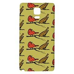 Bird Birds Animal Nature Wild Wildlife Galaxy Note 4 Back Case by Amaryn4rt