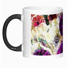 Background Flowers Morph Mugs by Amaryn4rt