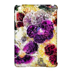 Background Flowers Apple Ipad Mini Hardshell Case (compatible With Smart Cover) by Amaryn4rt