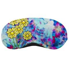 Backdrop Background Flowers Sleeping Masks