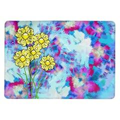 Backdrop Background Flowers Samsung Galaxy Tab 10 1  P7500 Flip Case by Amaryn4rt