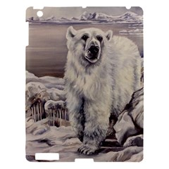 Polar Bear Apple Ipad 3/4 Hardshell Case by ArtByThree