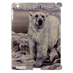 Polar Bear Apple Ipad 3/4 Hardshell Case (compatible With Smart Cover) by ArtByThree