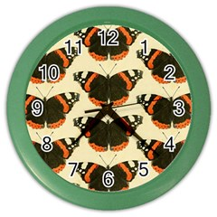 Butterfly Butterflies Insects Color Wall Clocks