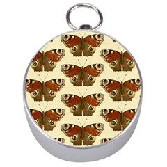 Butterfly Butterflies Insects Silver Compasses by Amaryn4rt